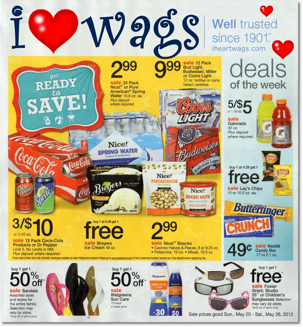 Walgreens Ad Preview 5/20 – 5/26