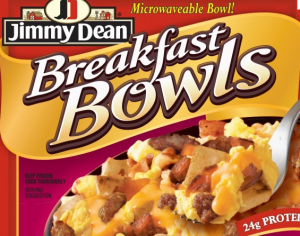 Jimmy Deans Breakfast Bowl