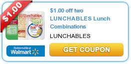 $1.00 off two LUNCHABLES Lunch Combinations