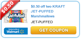 $0.50 off two KRAFT JET-PUFFED Marshmallows