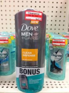 Dove Men+Care Body Wash Free + $1.63 Money Maker At Target
