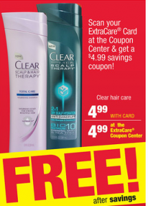 Free Clear Shampoo At CVS