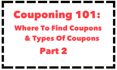New To Couponing: Where To Find Coupons & How To Get Free Coupon Inserts