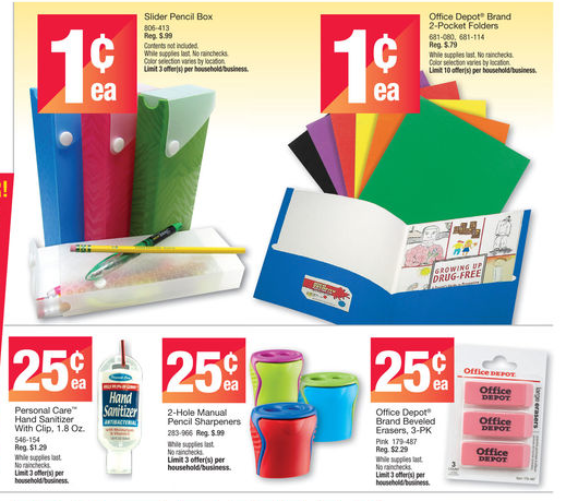Folders Pencil Pouches Other Cheap School