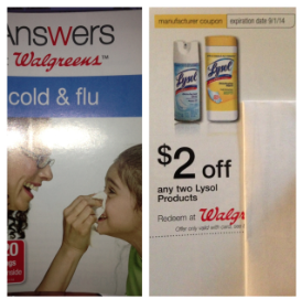 Walgreens Lysol Coupon