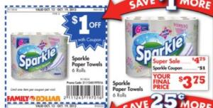 Sparkle Paper Towel Deal