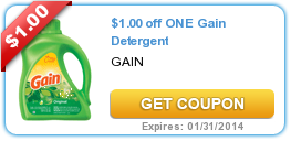 $1.00 off ONE Gain Detergent