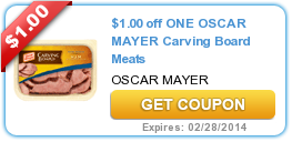 $1.00 off ONE OSCAR MAYER Carving Board Meats