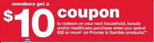 Kmart P&G Promotion 1/26 - 2/1