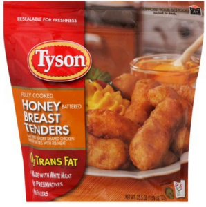 Buy 2 Get 1 FREE Tyson Battered Dipped Chicken Tenders Coupon