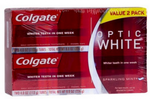 Colgate Optic White Twin Pack