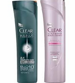 clear shampoo target