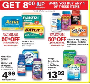 FREE Bayer Low Dose Aspirin + $8.28 Money Maker At Rite Aid