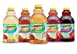 Mott's for tots juice