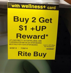 RITE AID Monthly deal