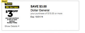dollar general digital coupon
