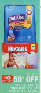 Huggies CVS Promotion
