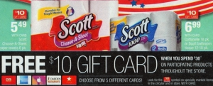 Cheap Scott Paper Products At CVS - As Low As $3.34