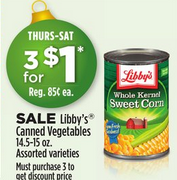 **HOT** Libby's Canned Vegetables Only $0.08 At Dollar General