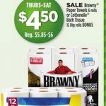 Brawny Paper Towel Dollar General