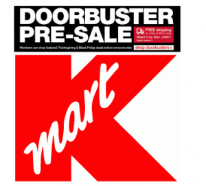 Kmart Pre Black Friday Sale