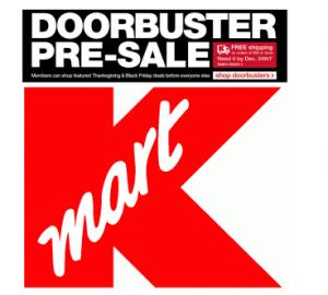 Kmart Pre Black Friday Sale