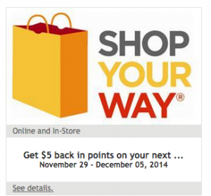 kmart point coupon