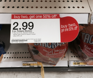 Pedigree Stackerz Dog Treats Only $0.82 At Target