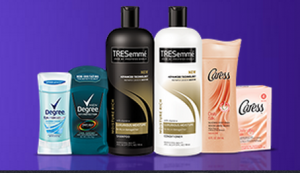 Tresemme, Caress, or Dove products Dollar General