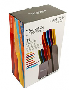Hampton Forge Tomodach 10Piece Cutlery Block Knife Set