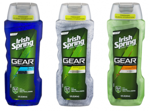 Irish Spring Gear Body Wash