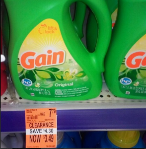 Gain HE Laundry Detergent