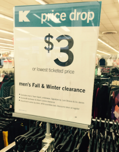 Kmart Winter Clearance