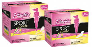 Playtex Sports Combo Pack