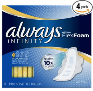 Always Infinity With Flex Foam