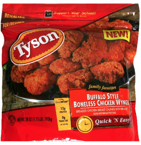Tyson Breaded Chicken Item