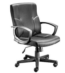 Staples.com: Stiner Fabric Managers Chair, Black