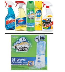 HOT $8.00/1 Scrubbing Bubbles Shower Kit, $5.00/5 Windex, Pledge, Shout, oe Scrubbing Bubbles and More Awesome New Coupons