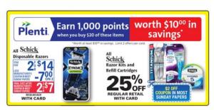 Schick coupon