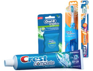 Oral B, Crest coupons