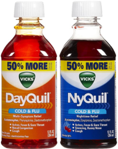 Vick nyquil dayquil
