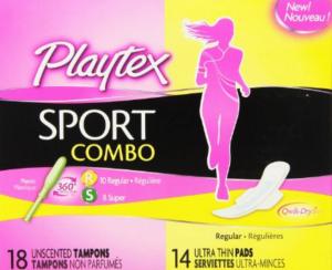 Playtex Sport Combo pack