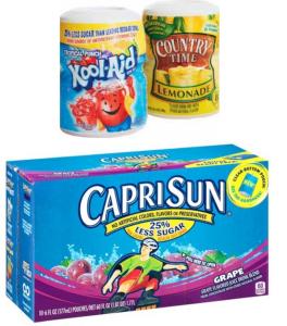 Capri Sun, Kool Aid