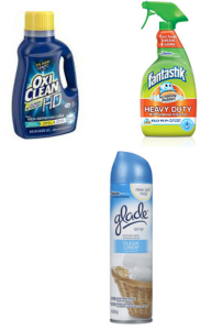 Oxi Clean, Glade, Scrunning Bubbles fantastik