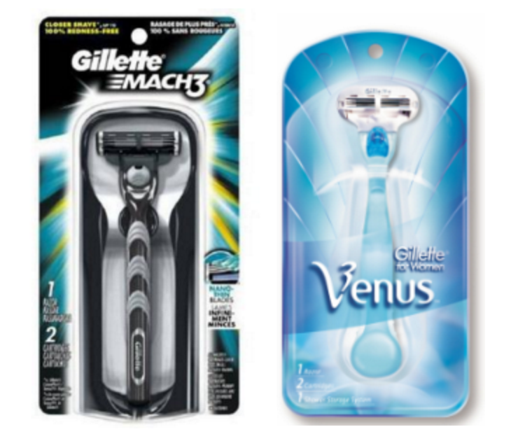 photo about Venus Razors Printable Coupons named CVS: Gillette Mach 3 Or Venus Razors Simply just $0.32