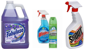 Scrubbing Bubbles, Windex, Shout, & Fabuloso Coupons