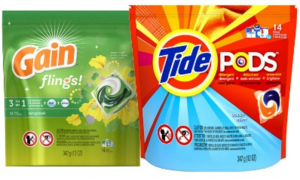 Tide Pods Gain Flings