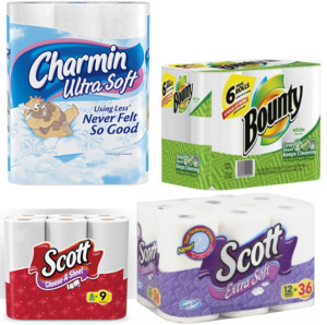 Scott Bounty Charmin