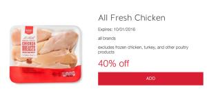 40 All Fresh Chicken Target Cartwheel