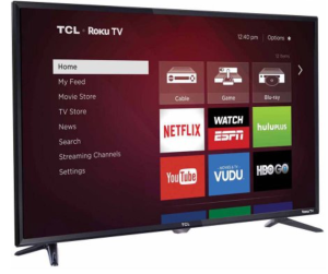 "Roku Smart 32"" LED HDTV TCL 32S3750"